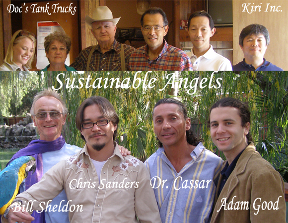 Sustainable Angels _ Bill Sheldon, Dr. Robert Cassar, Dr. C.C. Sanders, and Adam Good
