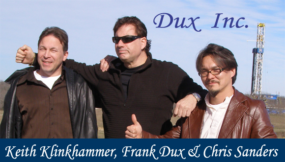 Keith Klinkhammer, Frank Dux, and Dr. Chris Sanders