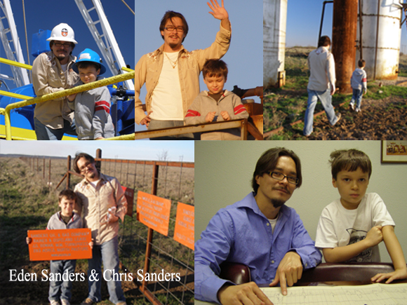 Christopher C. Sanders and Eden Ocean Sanders - Sustainable Angels!