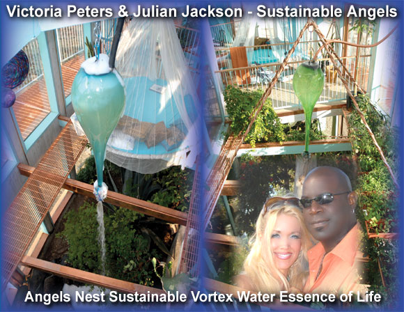 Victoria Peters and Julian Jackson - Sustainable Angels!