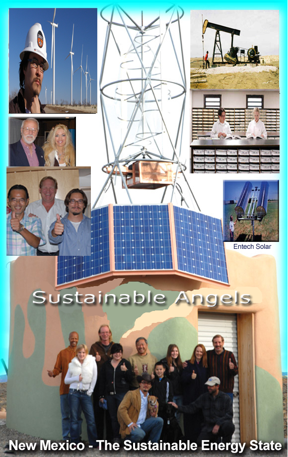 Sustainable Angels - Energy Pods!